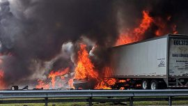 Seven Victims Identified After Fatal Fiery Wreck on Florida Interstate