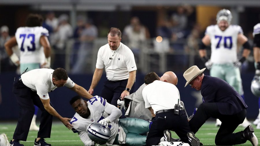 Cowboys Wide Receiver Allen Hurns Suffers Graphic Leg Injury; Coach Provides Update