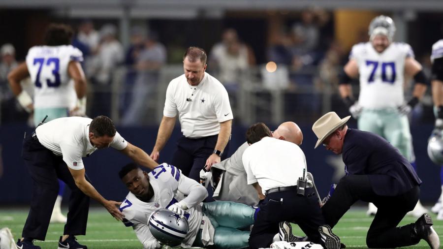 Cowboys Wide Receiver Allen Hurns Suffers Graphic Leg Injury; Coach Provides Update