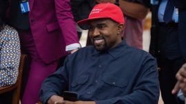Kanye West Defends His Support for Trump, Denounces Racial 'Mental Slavery'