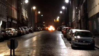 Explosion in Londonderry, Police Investigate Suspected Car Bomb