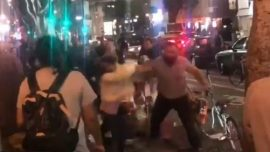 Man Seen in Video Punching Two Women Surrenders to Police
