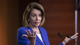 Pelosi Declines to Negotiate on Wall Money Even With Government Reopened