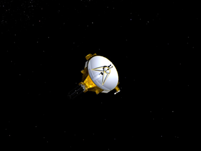 An artist's impression of NASA's New Horizons spacecraft