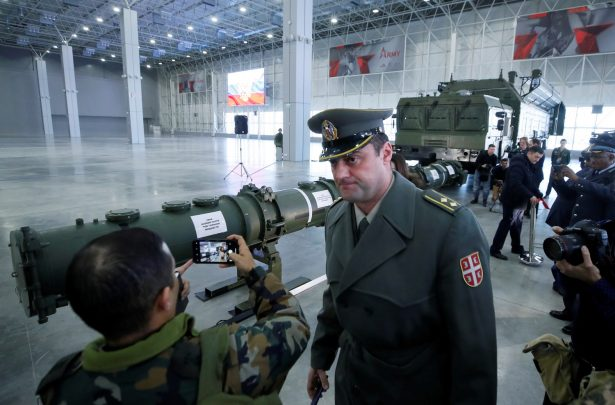 news briefing dedicated to cruise missile systems