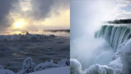Niagara Falls Looks Even More Breathtaking When Icy