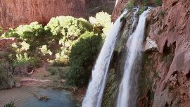 Tribal Land Known for Waterfalls Won't Allow Tour Guides
