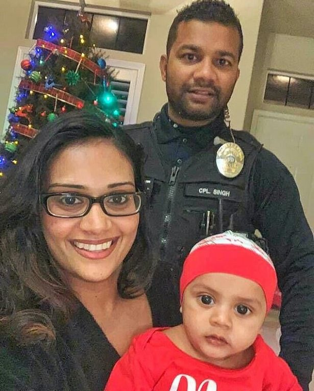 ronil singh with family