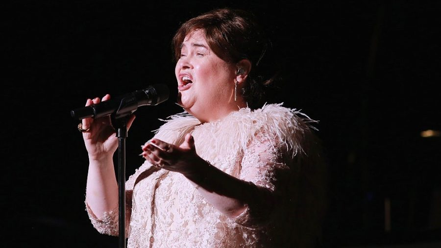 Singer Susan Boyle Makes Epic Return to 'America's Got Talent: The Champions'