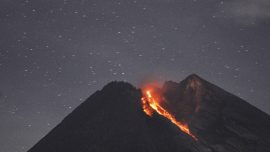 Indonesian Volcano Erupts Near Third-Biggest City, Sending 100 Tourists Running for Safety