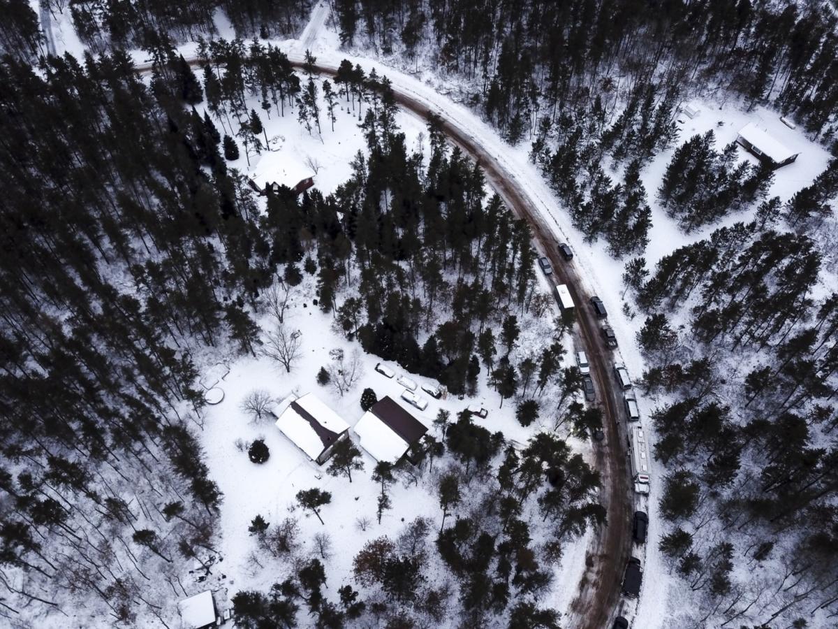 Jake Patterson's cabin in Wisconsin