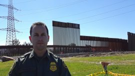 30-ft Border Wall Construction Underway To Replace Secondary Barrier in San Diego