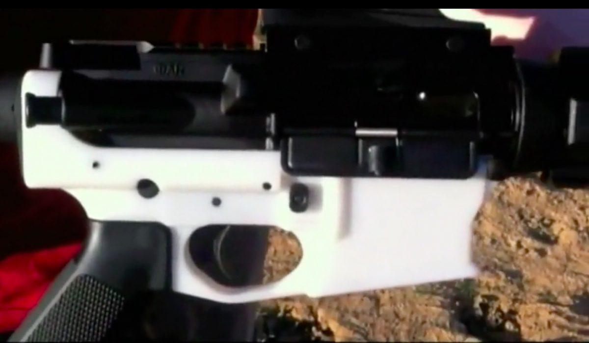 AR-15 created from 3-D printer