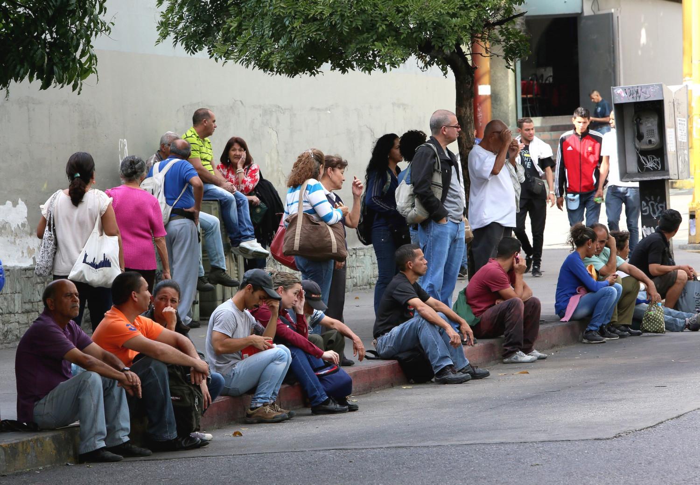 Collapse in the public transport system in Venezuela