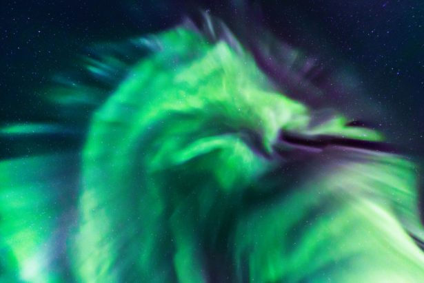 NASA Shares Photo of Unusual 'Dragon' Aurora in the Sky