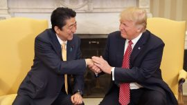 Japanese Leader Nominates Trump for Nobel Peace Prize