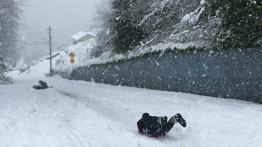 Strong Storm Brings Damage And Snow To Hawaii