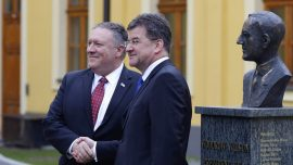 US Secretary of State Visits Slovakia for First Time in 20 Years