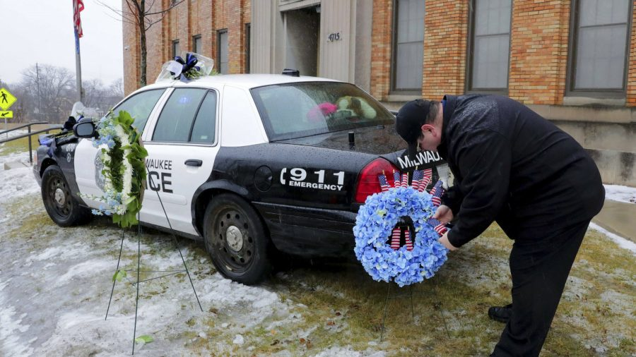 Family of Fallen Officer Forced to Remove Thin Blue Line Flag on Anniversary of Death