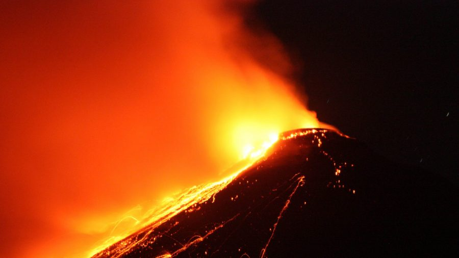 Video: Lava, Gas Flowing out Indonesia Volcano Sends People Fleeing