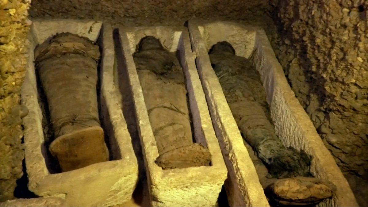 Mummies found in Egypt