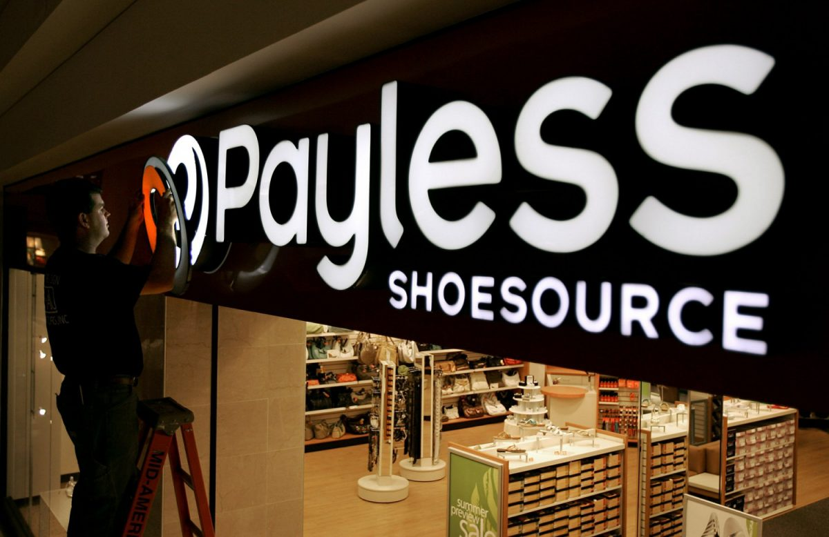 Payless Shoe store closing