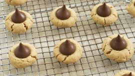 Peanut Blossom Cookies With a More Robust Peanut Flavor