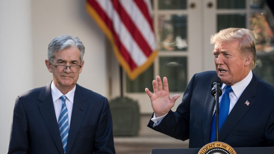 Trump Renews Pressure on Fed to Lower Interest Rates