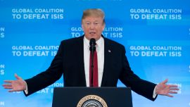 Trump Predicts Full Defeat of ISIS in Iraq, Syria by Next Week