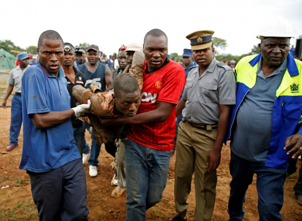24 bodies retrieved from flooded Zimbabwe gold mine