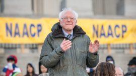 Bernie Sanders Hospitalized, 'Canceling Events' Until Further Notice
