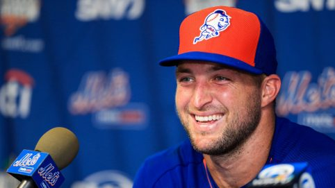 Tim Tebow Gives Inspirational Speech in Response to Haters