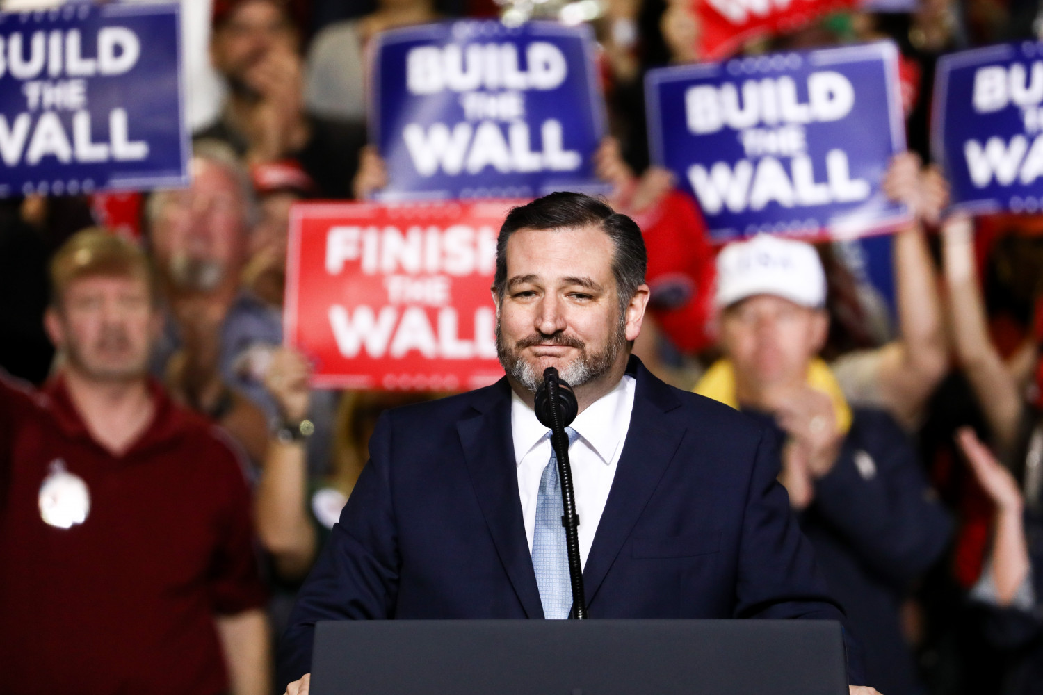 Sen. Ted Cruz (R-Texas) at a Make America Great Again rally in El Paso, Texas