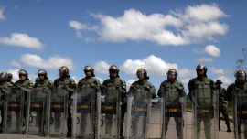 Venezuelan Troops Kill One in First Bloodshed Linked to Aid Entry