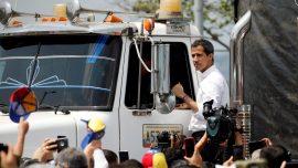 Venezuela's Guaido Says 'All Options Open' After Maduro Blocks Aid