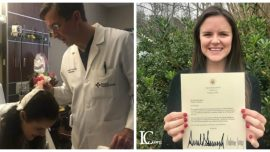 27-Year-Old Woman Receives Letter From White House After Battling Brain Tumor
