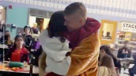 Emotional Homecoming Video: Father Surprises Daughter After 7 Months Duty Overseas