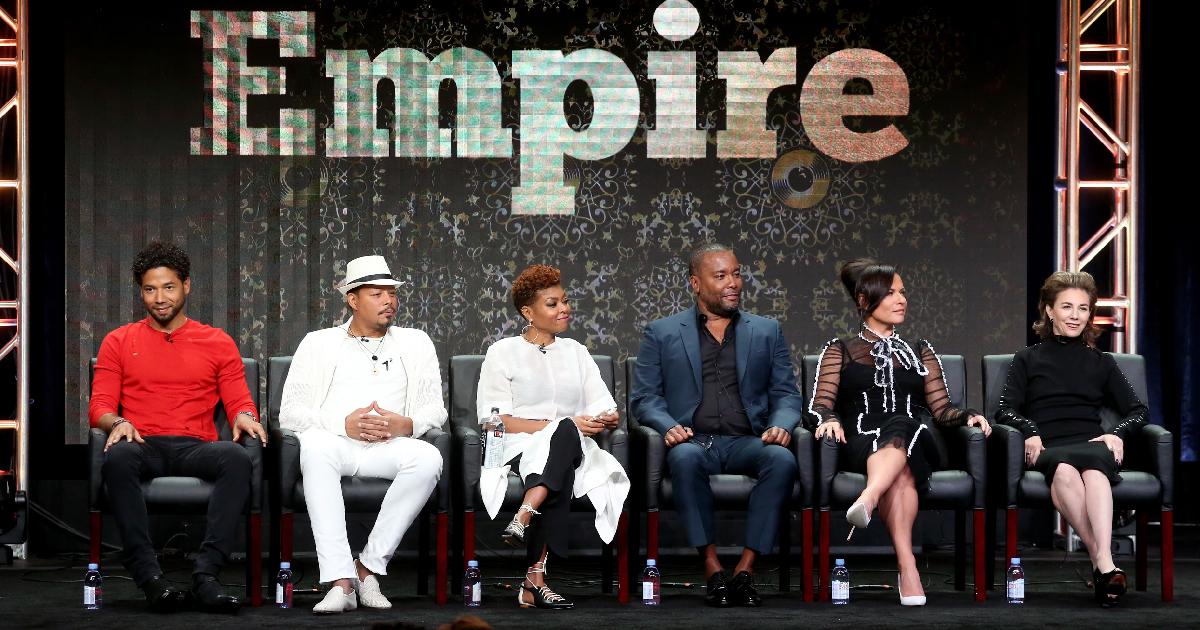 The cast of TV show Empire