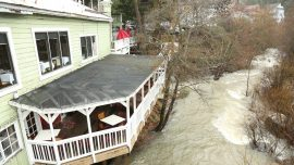 Powerful Storm Dumps More Rain and Snow Across the West