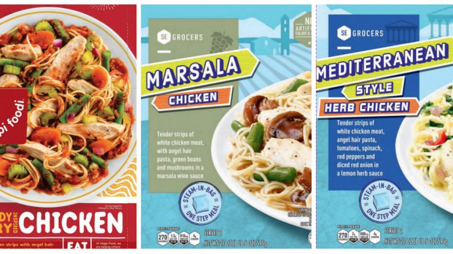 Multiple frozen chicken products recalled due to misbranding, undeclared allergens