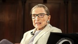 Supreme Court Justice Ruth Bader Ginsburg Back on Bench After Illness