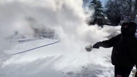 Polar Vortex 'Boiling Water Challenge' Sends 8 People to Hospital in Chicago
