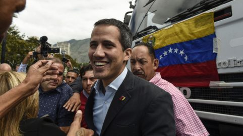 Venezuela's Guaidó to Lead Convoy to Colombia Border to Receive Aid