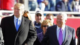 New England Patriots Owner Robert Kraft Praises President Trump