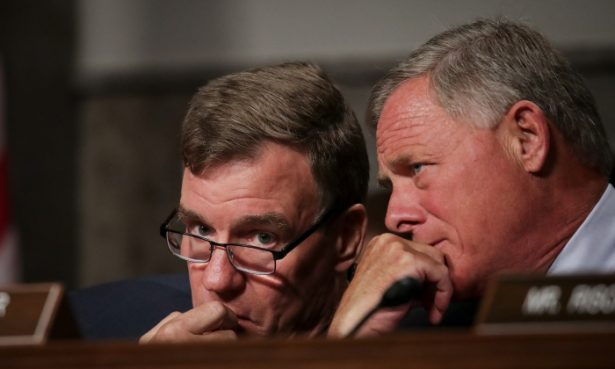 Richard Burr and Mark Warner in Washington