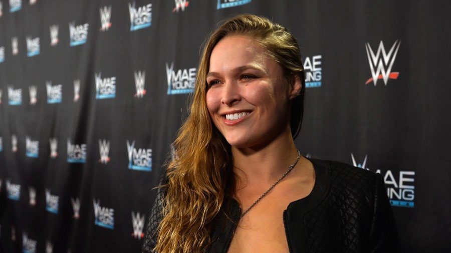 WWE Star Ronda Rousey Helps Open Suicide Prevention Center