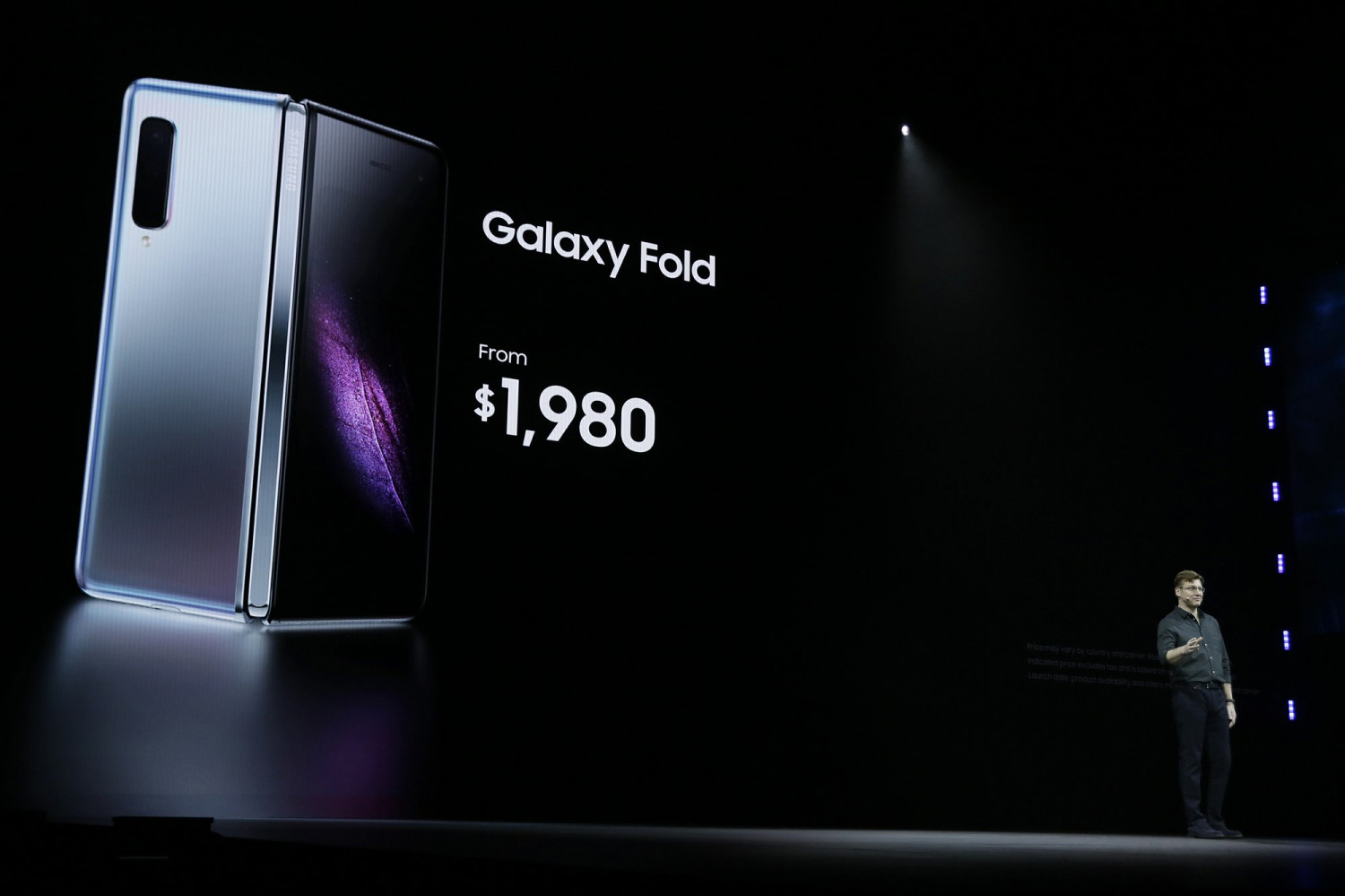 Justin Denison, SVP of Mobile Product Development, talks about the new Samsung Galaxy Fold