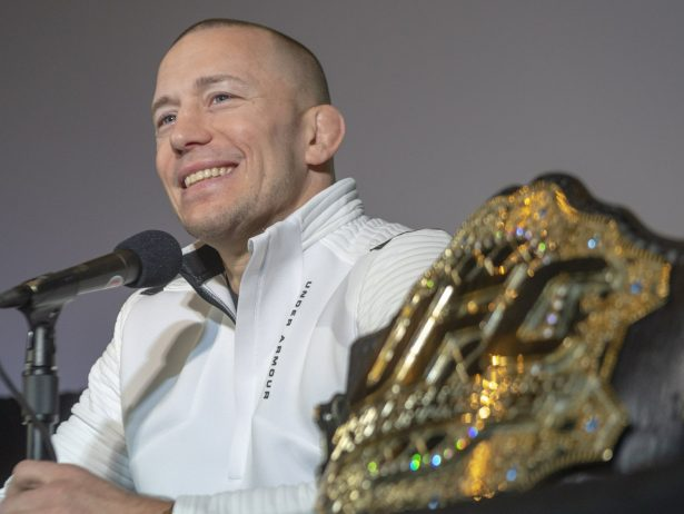 Canada's Georges St-Pierre announces his retirement
