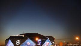 A Deluge Of Drones Fly Over Super Bowl Stadium, Despite Ban