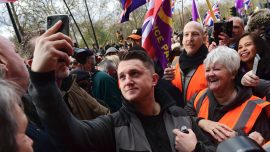 Anti-Islamic Campaigner Tommy Robinson Banned From Facebook